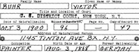 Naturalization paper for Victor Buhr